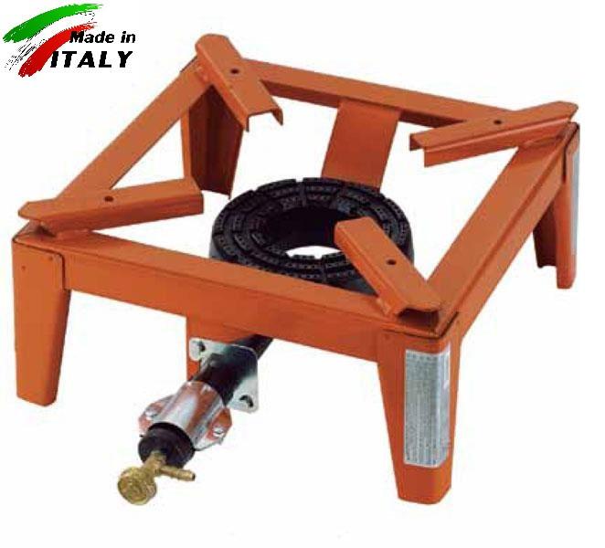 Горелка - плита газовая настольная OMAC 150 Mammuth, чугунная