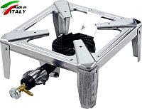 Горелка - плита газовая настольная OMAC 650 Mini Drago, нержавеющая сталь