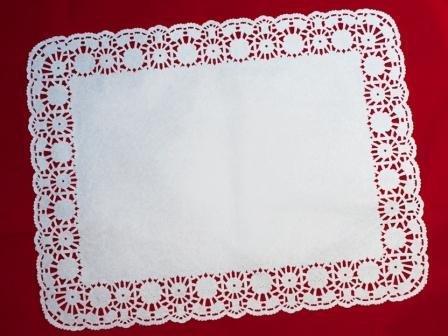 Салфетки серв., прямоуг., 35х45см, бел., Бумага, фото 2