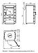 Печь-камин отопительно-варочный ТМФ Яуза-1 антрацит нерж. вставки чугунная плита, фото 3