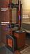 Дымоход-конвектор-2 ТМФ для 2 смежных помещений нерж. 1,0мм/0,5мм ф115мм L=0.65м, фото 2