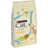 Cat Chow Kitten, Кэт Чау корм для котят с курицей, уп. 15 кг.