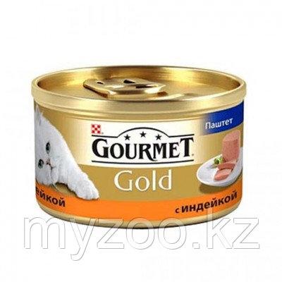 Gourmet Gold, Гурмэ Голд паштет с индейкой, баночка 85 гр.