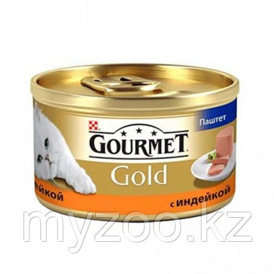 Gourmet Gold, Гурмэ Голд паштет с индейкой, уп. 24* 85 гр.