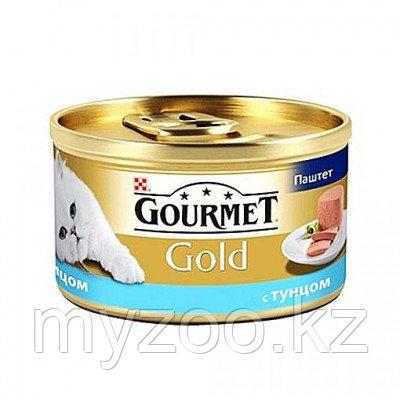 Gourmet Gold ,Гурмэ Голд паштет с тунцом, баночка 85гр.