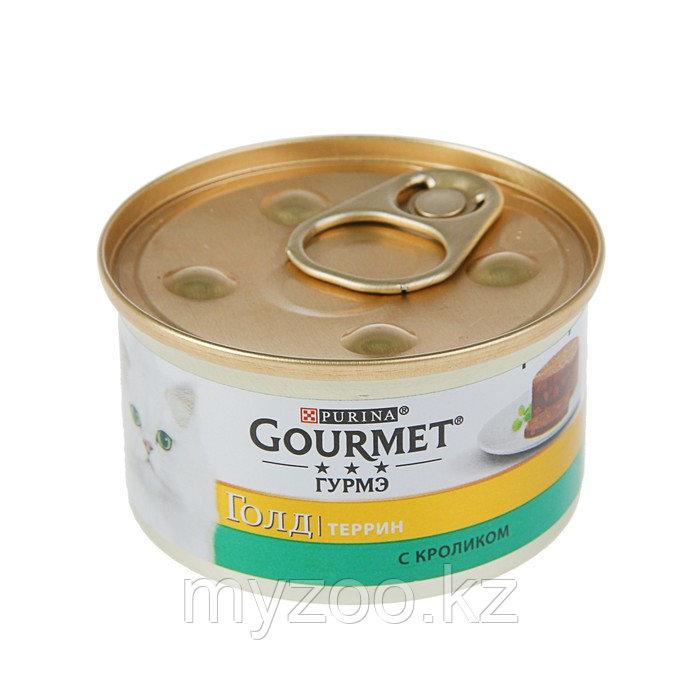Gourmet Gold, Гурмэ Голд кусочки кролика в паштете по-французски,уп. 24* 85гр.