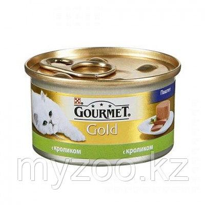Gourmet Gold, Гурмэ Голд паштет с кроликом, баночка 85 гр.