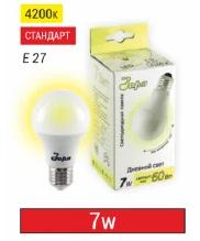 Лампа светодиодная 7Вт, А60, Е27, 2700-4000-6500К