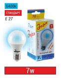 Лампа светодиодная 7Вт, А60, Е27, 2700-4000-6500К, фото 2