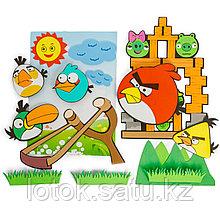 Набор декоративных наклеек в детскую комнату «Angry Birds »