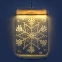 Новогодние 3D светильники 2 шт