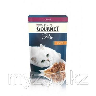 Gourmet Perle Mini Fillets Duck in Sauce, Гурмэ Перл нежный кусочки утки в соусе, пауч 85 гр.