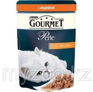 Gourmet Perle Mini Fillets Turkey in Sauce, Гурмэ Перл нежный кусочки индейки в соусе, уп. 24* 85 гр.