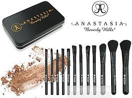 Набор кистей для макияжа Anastasia Beverly Hills 12 штук.