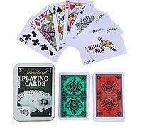 """Карты игральные пластик """"Poker range"""", 54 шт, 8.8х5.8 см, 28 мкр, микс, фото 1"""