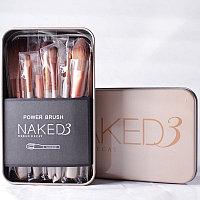 Набор кистей для макияжа Power Brush NAKED 3 Urban Decay 12 штук.