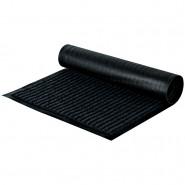 Коврик влаговпитывающий, ворсовый, ребристый OfficeClean. 40*60 см, черный