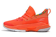 "Игровые кроссовки Under Armour Curry VII (7) ""Sour Patch Kids/Orange"" (40-46), фото 3"