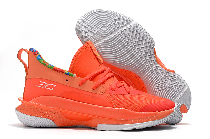"Игровые кроссовки Under Armour Curry VII (7) ""Sour Patch Kids/Orange"" (40-46)"