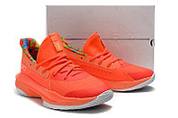 "Игровые кроссовки Under Armour Curry VII (7) ""Sour Patch Kids/Orange"" (40-46), фото 4"