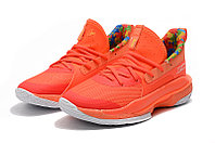 "Игровые кроссовки Under Armour Curry VII (7) ""Sour Patch Kids/Orange"" (40-46), фото 6"