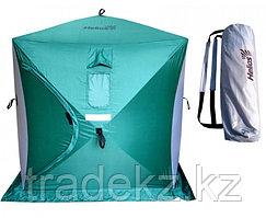 Палатка для зимней рыбалки ТОНАР HELIOS КУБ 1.5х1.5 м, зеленый-серый