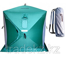 Палатка для зимней рыбалки ТОНАР HELIOS КУБ- 1,8, серый-зеленый