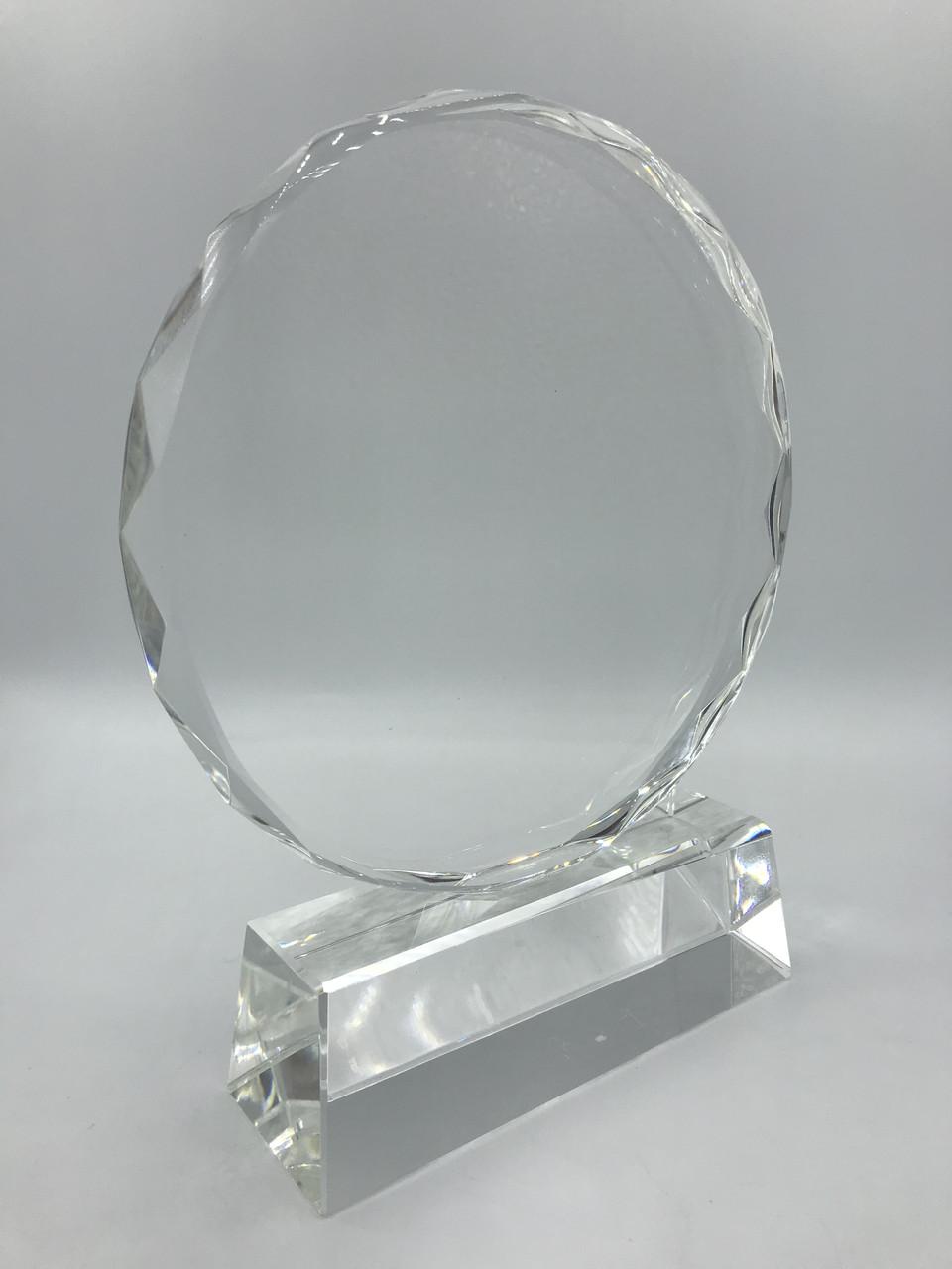 Стелла наградная, стеклянная (G02)