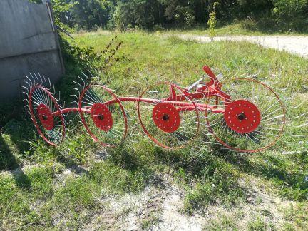 Грабли-ворошилки 2.4м 4х колесные D-POL (аналог Польша), фото 2