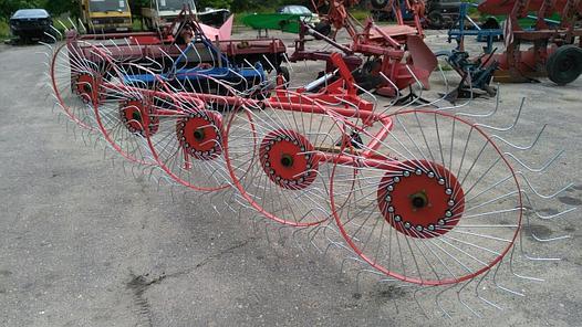 Грабли-ворошилки 3.0м 5ти колесные D-POL (аналог Польша), фото 2