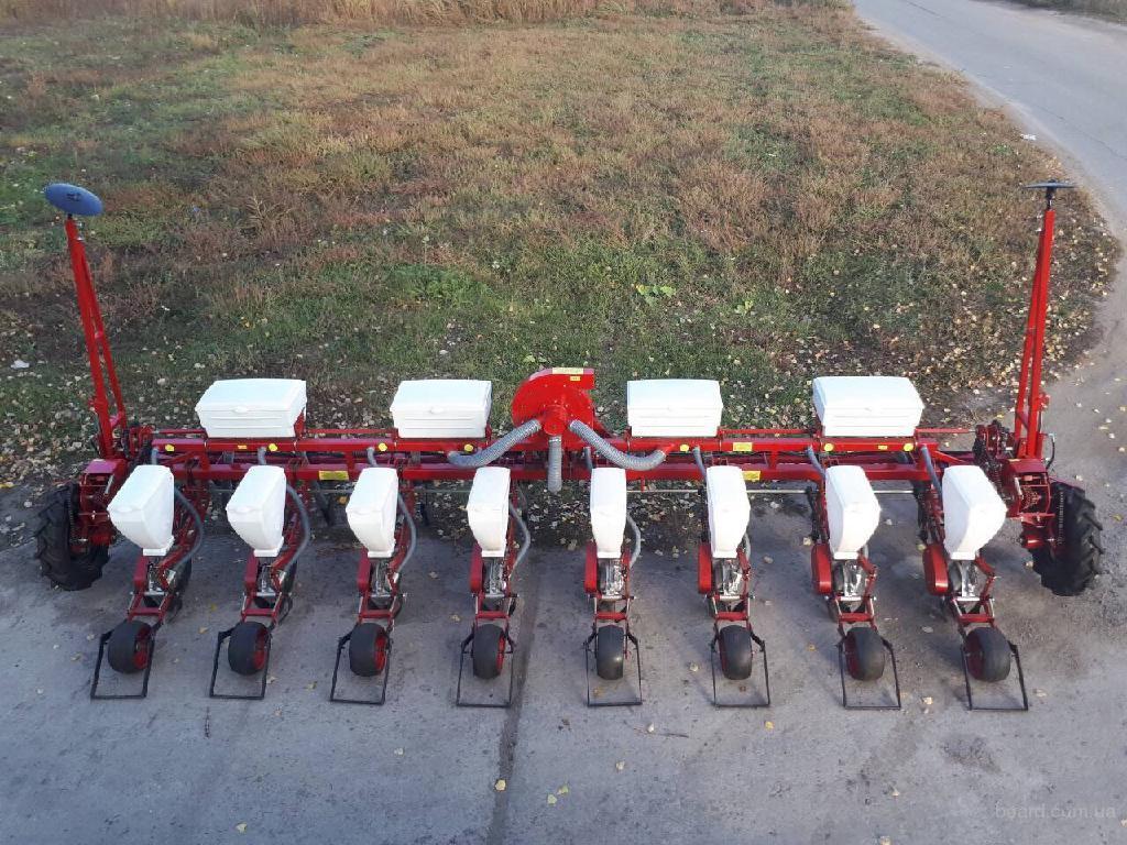 Сеялка точного высева серии СУПН 8,навесная (вентиляторная)