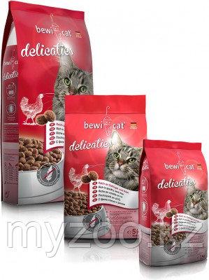 BEWI-CAT Delicaties, Бэви Кэт, корм для взрослых стерилизованных кошек, уп. 20кг.