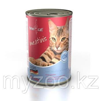 BEWI-CAT MEATINIS FISH влажный корм для кошек с рыбой, 400гр.