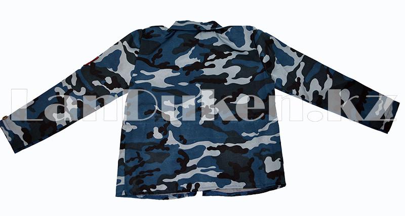 Костюм военный детский камуфляжный синий - фото 3
