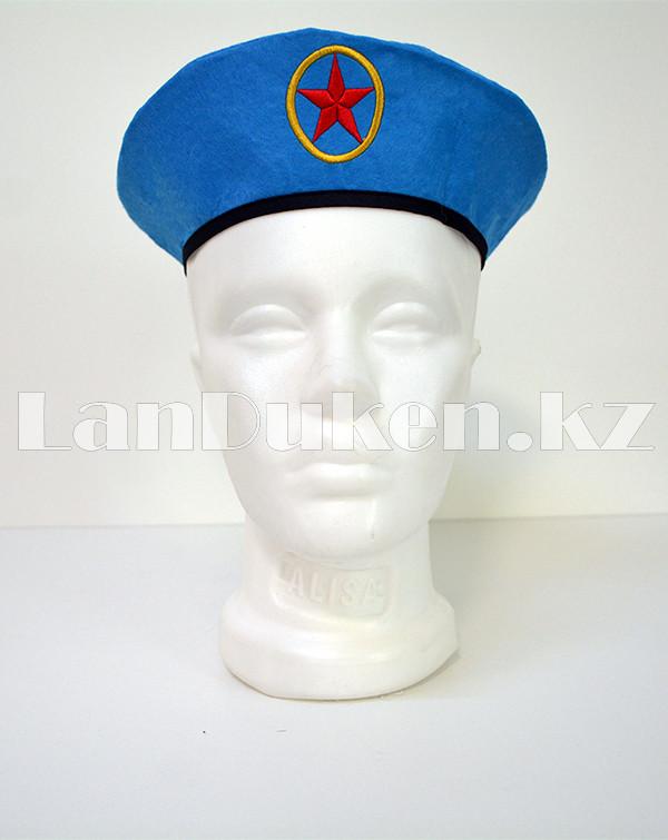 Костюм военный детский камуфляжный синий - фото 8