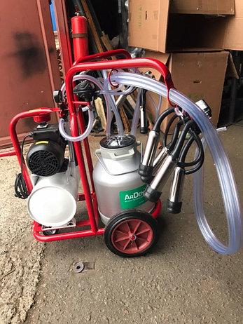 Доильный аппарат для коров 2 пульсатора 1 бидон Arden Турция, фото 2