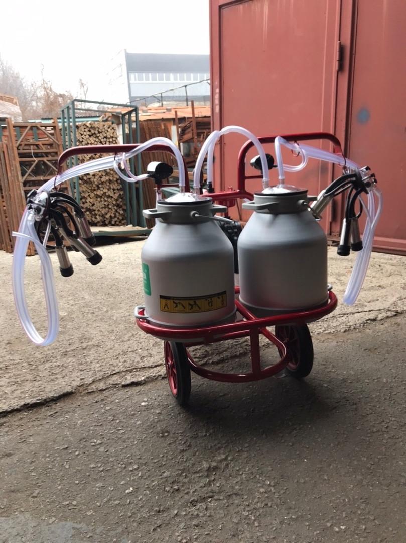 Доильный аппарат для коров 2 пульсатора 2 бидона Arden Турция