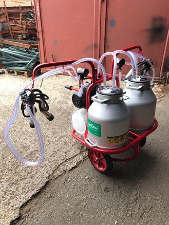 Доильный аппарат для коров 2 пульсатора 2 бидона Arden Турция, фото 2