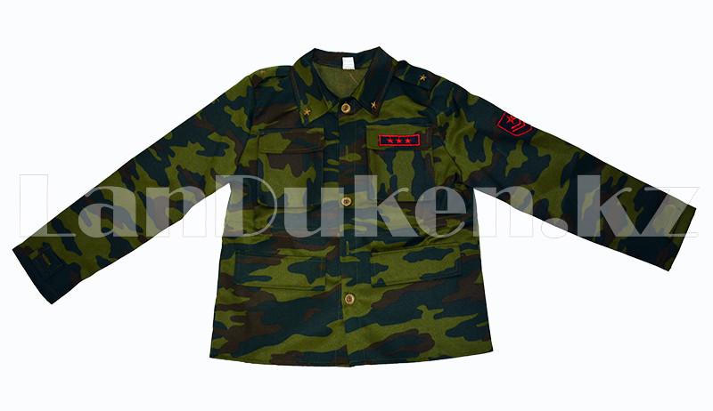 Костюм военный детский камуфляжный зеленый - фото 2