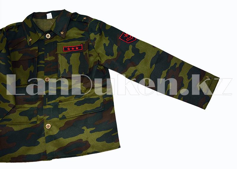 Костюм военный детский камуфляжный зеленый - фото 5