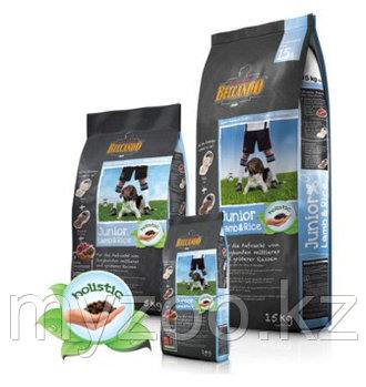BELCANDO JUNIOR LAMB&RISE, Белькандо Ягненок с Рисом, гипоаллергенный корм для щенков, уп.4 кг