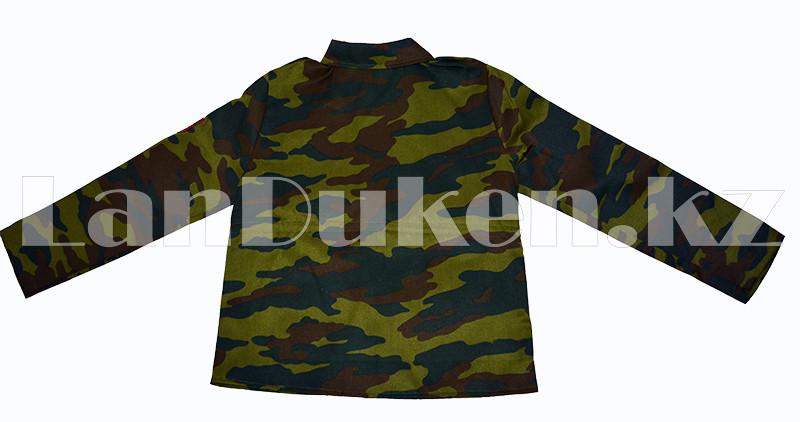 Костюм военный детский камуфляжный зеленый - фото 3