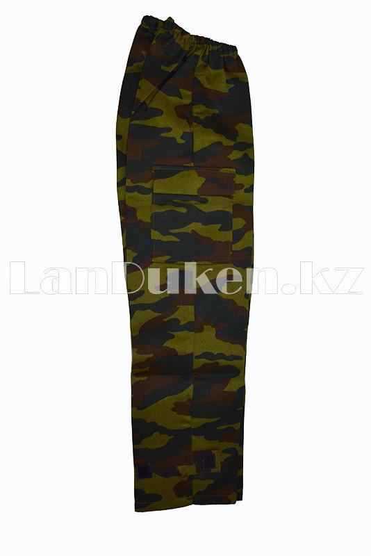 Костюм военный детский камуфляжный зеленый - фото 8