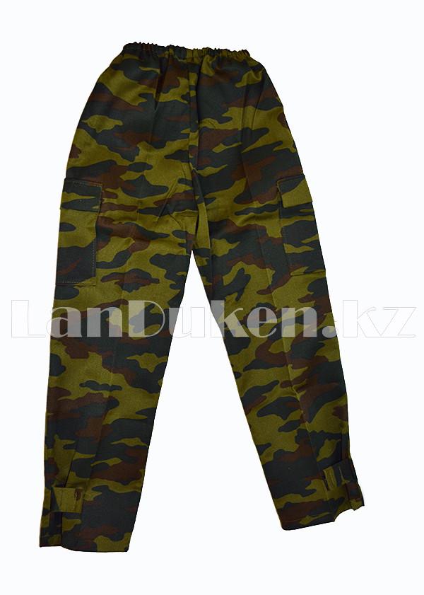 Костюм военный детский камуфляжный зеленый