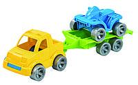 "Набор авто ""Kid cars Sport"" 3 эл. (пикап + квадроцикл)"