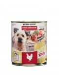 Bewi Dog Chiken, влажный корм из курицы, с 12 месяцев банка 800гр.