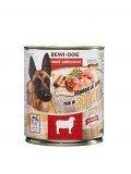 Bewi Dog lamb, влажный корм из ягненка, с 12 месяцев банка 800гр.
