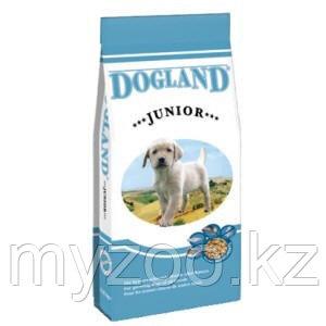Dogland Junior, регуляр-корм для щенков средних и крупных пород, уп.15кг