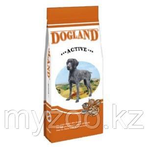 Dogland Aktiv, Догланд Актив, корм для взрослых собак при повышенной активности, 15 кг.