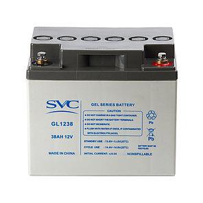Батарея SVC GL1238 гелевая 12В 38 Ач, фото 2